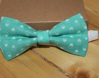 Mint Bow Tie, Rustic Bow Tie, Bow Ties, Boys Bowties, Boys Bow Tie, Baby Bowtie