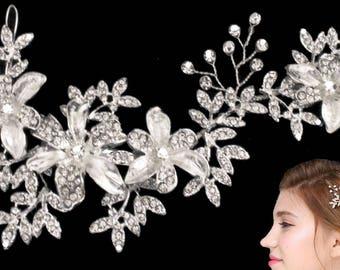 wedding veil -birdcage-Ivory