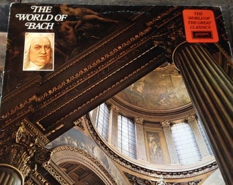 The World of Bach - vinyl record
