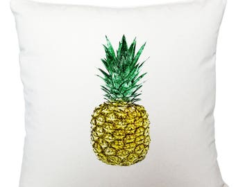 Cushions/ cushion cover/ scatter cushions/ throw cushions/ white cushion/ pineapple cushion cover