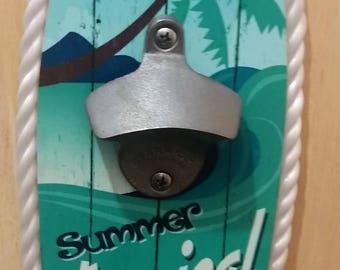 Surf Board Bottlew Opener