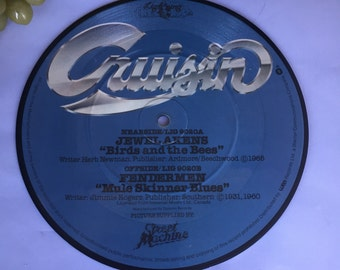 K017  Cruisin 45 Record-Featuring Jewel Akens and Fendermen Birds and bees