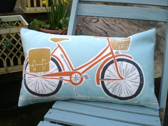 Harlequin Scion Fabric Cushion Cover - Cykel