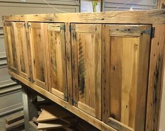 Reclaimed Barnwood Quilt Rack