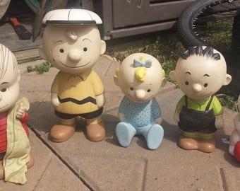 Vintage Handmade Peanuts Figure Item #50