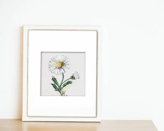 "Series ""MINI ART FLOWERS"" Daisy"