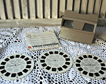 Vintage! Viewmaster. Sawyers. Made in Portland, OR. 1950's. Three reels included!