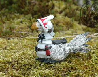 White Mage Chocobo Figurine