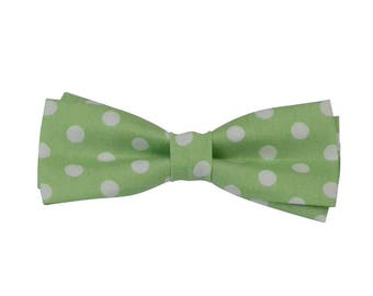 Adjustable bow tie, bow ties for kids, Boys bowtie, Sage green bow ties, green bow ties, cotton bow tie, boys bow ties