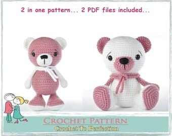 Amigurumi Pattern, Amigurumi Animals, Amigurumi Crochet Pattern, Amigurumi Bear, Crochet Pattern Amigurumi, Crochet Pattern, Crochet Teddy