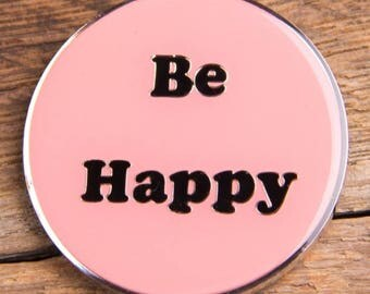 Be Happy Coin Pink