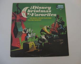 Rare! - Walt Disney -  Louis Prima - Disney Christmas Favorites -  Circa 1973