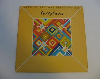Freddy Fender - Merry Christmas - Feliz Navidad - Circa 1977