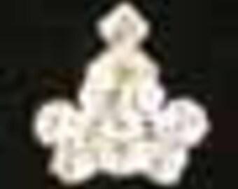 Baby Crown Tack Pin - #9491