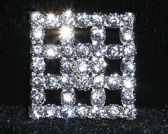 """Style # 15497 - Checkerboard Button - 5/8"""""""