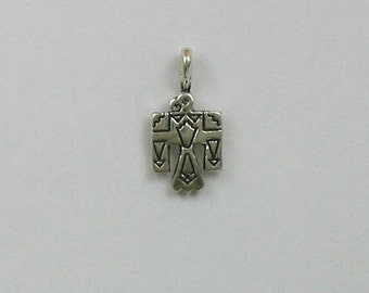 Sterling Silver Small Thunderbird Charm