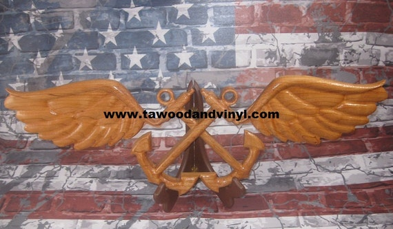 US Navy Aviation, boatswain's mate, carved wings, US Navy carving, Boatswain carving, boatswain mate, boatswain mate gifts, boatswain retire