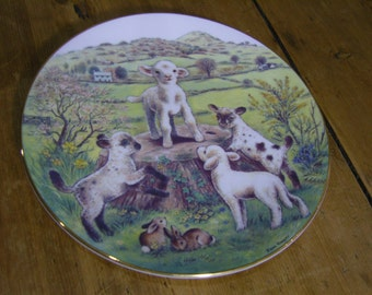 RSPCA Collection 'King of the Castle' Plate