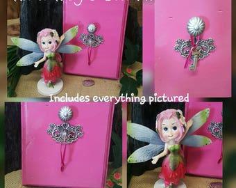 Pink Fairy Door Kit