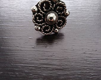 Accent Ring / Silver Ring / Adjustable Silver Ring/