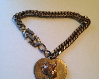 On Sale Mid Century Roman Bracelet, Gift for Girlfriend, gift for her, gifts for women