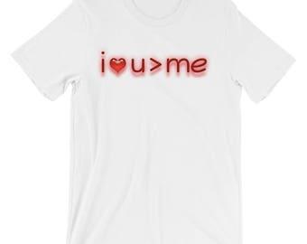 Christian T Shirts I Love You More Than Me '16 - Christian Clothing - Jesus Shirt - Christian Apparel - Christian Gifts - Gift for Men