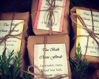 Classic Florals Tea bath • tub tea • bath tea