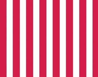 Canvas Corp 12 x 12 in. Paper Red & White Big Stripe