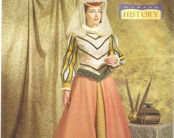 Butterick 4375 Misses' Tudor Costume Pattern, 14-20