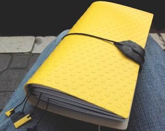Travel journal Travel notebook Blank book Sketchbook Personalized journal Midori Traveler notebook Refillable journal Writing journal Gift