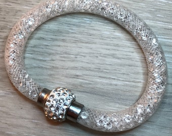 Stardust bracelet made with authentic Swarovski Crystals