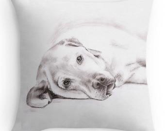 Labrador Pillow Etsy