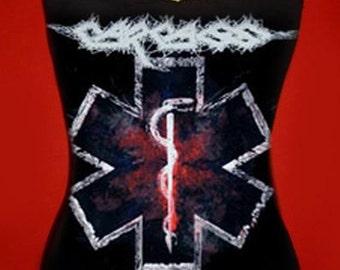 CARCASS diy cami tank top girly death metal unfit shirt xs s m l xl