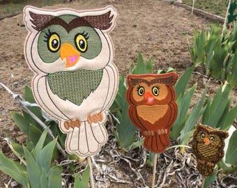 Good Owl,Garden Stakes,Lawn Decor,Outdoor Garden Stake,Garden Decor,Outdoor