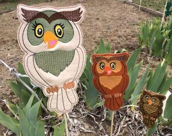 Great Owl,Garden Stakes,Lawn Decor,Outdoor Garden Stake,Garden Decor,Outdoor