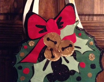 Christmas Wreath Shoulder Bag