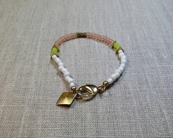 Seed Bead Bracelet / Friendship Bracelet / Charm Bracelet / Stackable Bracelet / Boho / Tribal / Gypsy