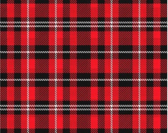 Plaid, Christmas, Pattern Printed vinyl- craft vinyl - HTV or Adhesive