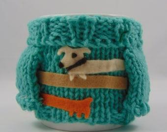 Mabel Sweater Mug Cosy - Wiener Dog