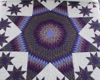 Purple quilt   Etsy : purple quilt king - Adamdwight.com