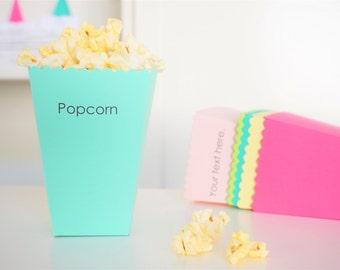 Personalized Popcorn Box - Set of 50