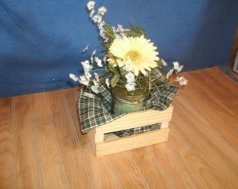 Small Wooden Crate Wood Crate Wooden Storage Crate Small