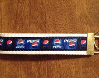 Pepsi Cola Key Chsin Zipper Pull