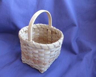 brown ash basket