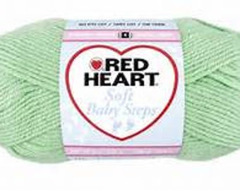 Red Heart Soft Baby Steps - Soft Green