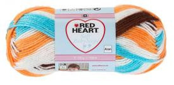 Red Heart Soft Baby Steps - Mud Pie