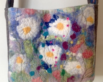 Handmade Felted Handbag