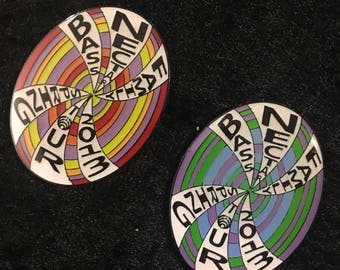 Bassnectar Spring Tour Pin set