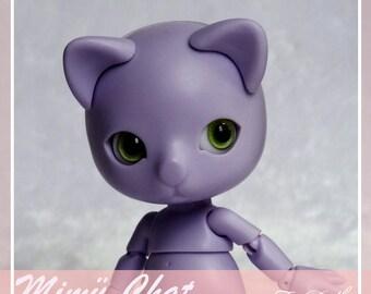 Tiny BJD, Fëadoll, Mimü kitty purple skin, Pro-cast
