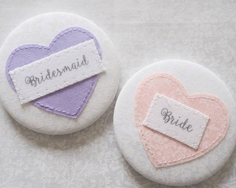 Personalised mirror, wedding favour, hen party favour, compact mirror